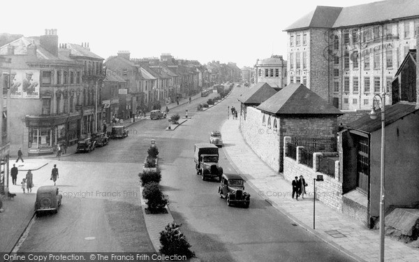 Plymouth Cobourg Street C 1940 Francis Frith