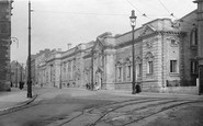 Plymouth, Museum and Free Library c1910