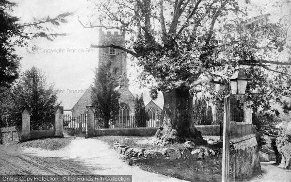 Plymouth, Tamerton Foliot Church 1908