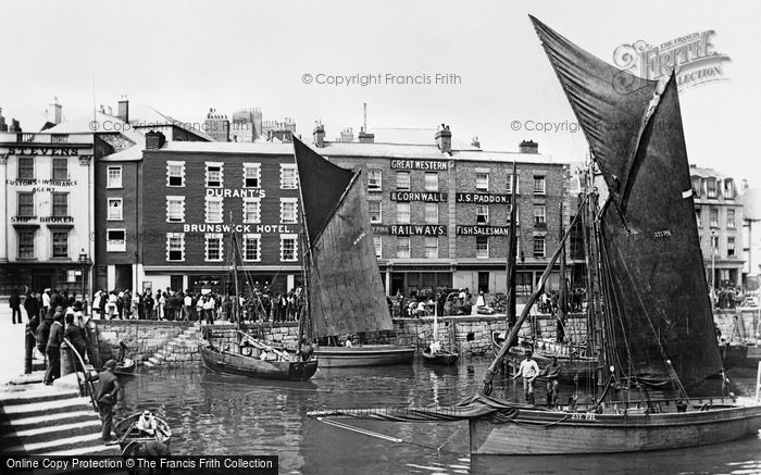 Plymouth, The Barbican 1890