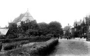 Poole, Parkstone Church 1904