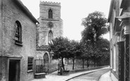 Poole, St James' Church 1908