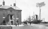 Poole, The Custom House 1904