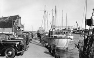 Poole, the Quayside 1950