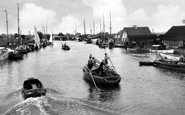 Potter Heigham, the River Thurne c1926