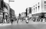 Preston, Fishergate c1960