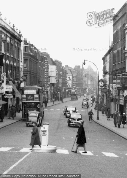 Putney, High Street Zebra Crossing c.1950