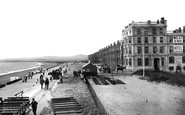 Pwllheli, West End Promenade 1898