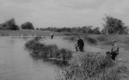 Rainham, Fishing At Berwick Pond c.1960