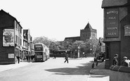 Rainham,St Helens And St Giles Parish Church c.1950