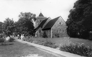 Rainham,The Church c.1960