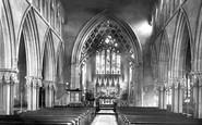 Reading, Christ Church, The Interior 1896