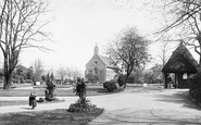 Reading, Forbury Gardens And St James's Church 1896
