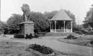Reading, Forbury Gardens c.1890