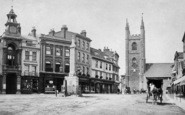 Reading, Market Place c.1880