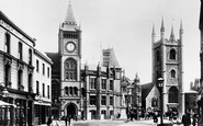 Reading, Municipal Buildings 1893
