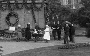 Reading, People In The Forbury Gardens 1890