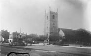 Reading, St Mary's Church c.1890