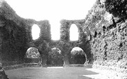 Reading, The Abbey, The Chapter House c.1890