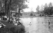 Redhill, Earlswood Lake c.1950