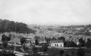 Redhill, From Above Pleasure Grounds 1895