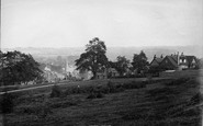 Redhill, From The Common 1895