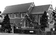 Redhill, Holy Trinity Church c.1965