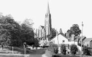 Redhill, St John's Church c.1960