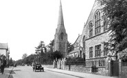 Redhill, St Matthew's Church 1919
