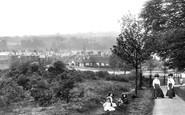 Redhill, View From Common 1908
