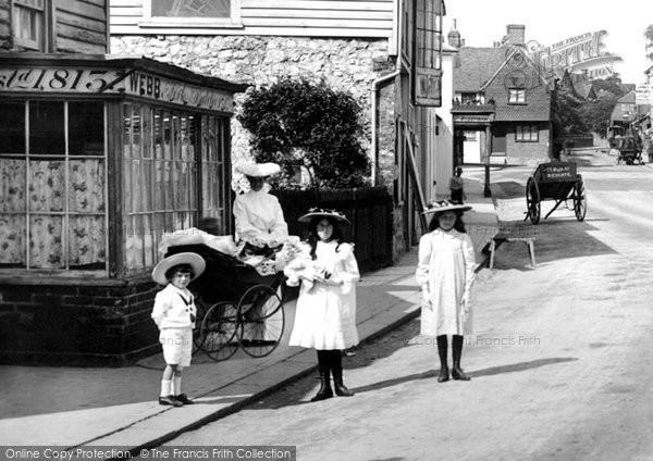 Reigate, A Shopping Excursion 1906