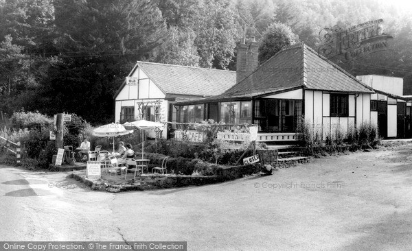 Ribbesford, The Lido Café c.1965