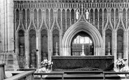 Ripon, Cathedral Screen 1935