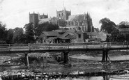 Ripon, Cathedral South East 1901