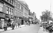 Ripon, Market Place, West c.1955