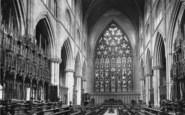 Ripon, Minster, Choir East 1895