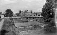 Ripon, The Alma Bridge And Cathedral c.1960