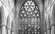 Ripon, The Cathedral Choir, East c.1885
