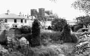 Ripon, The Cathedral From Barefoot Street c.1960