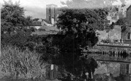 Ripon, The Cathedral From South East c.1955