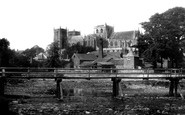 Ripon, The Cathedral From The River c.1885