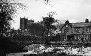 Ripon, The Cathedral From The River c.1955