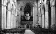 Ripon, The Cathedral Nave, East c.1885