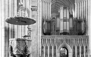 Ripon, The Cathedral, Pulpit And Screen 1914