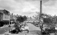 Ripon, The Market Place c.1955
