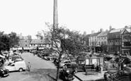 Ripon, The Market Place c.1955