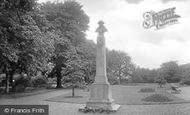 Ripon, War Memorial 1923