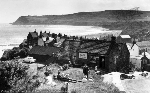 Robin Hoods Bay Looking South C 1960 Francis Frith