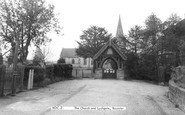 Rocester, St Michael's Church and Lychgate c1965