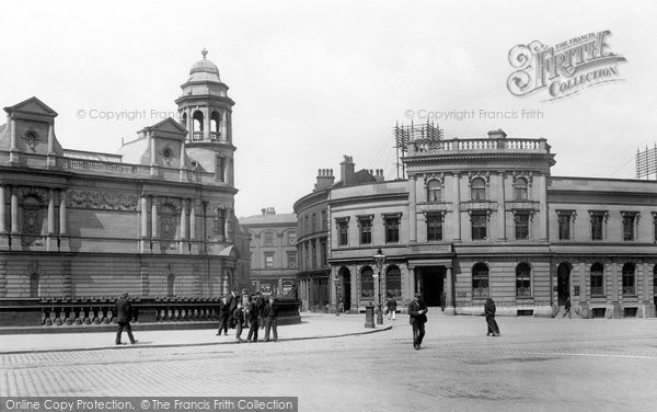 Rochdale, Entrance To Yorkshire Street 1898